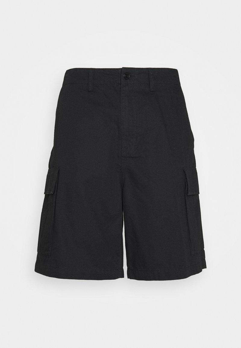 Weekday - ABDI WIDE CARGO - Shorts - black