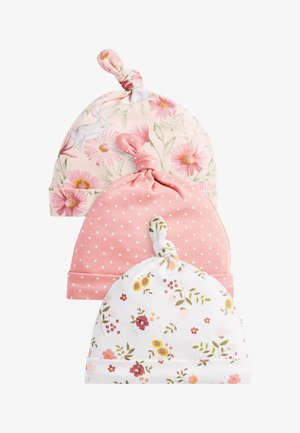 3 PACK FLORAL  - Beanie - pink