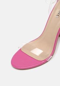 BEBO - PHOEBE - High heeled sandals - clear - 7