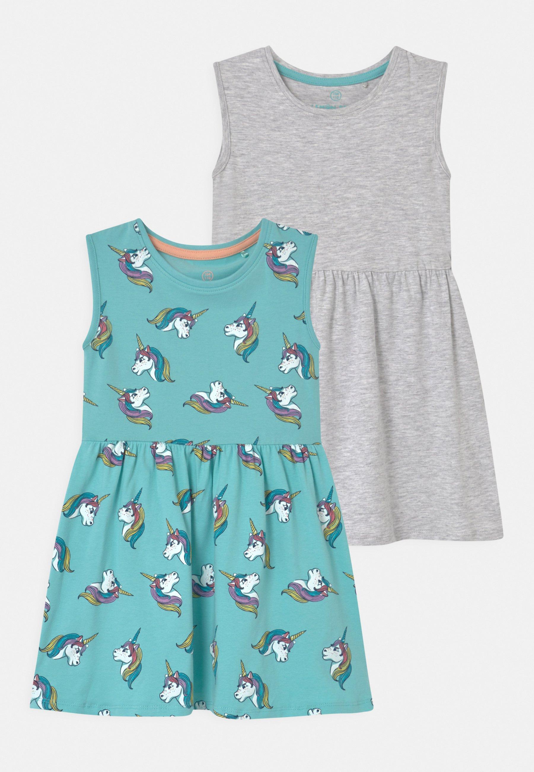 Kids SMALL GIRLS 2 PACK - Jersey dress