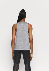 Nike Performance - CITY SLEEK TANK TRAIL - Sports shirt - dark grey heather/silver - 2