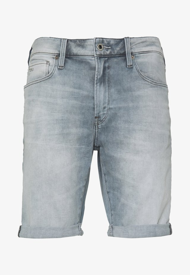 3301 SLIM - Jeansshorts - elto novo/sun faded quartz