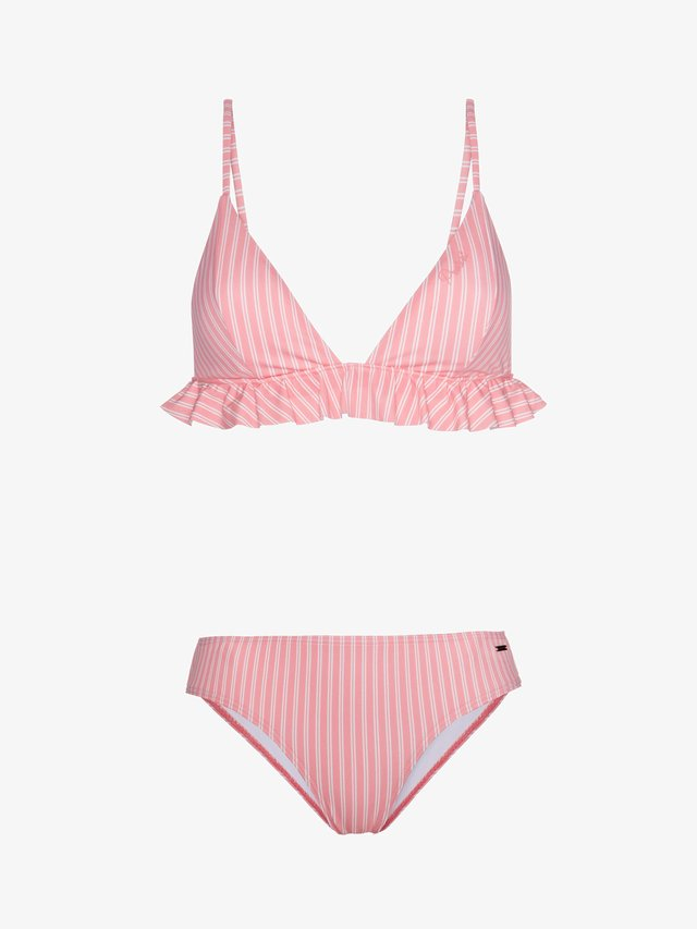 TOFFEE  - Bikini - pink/white
