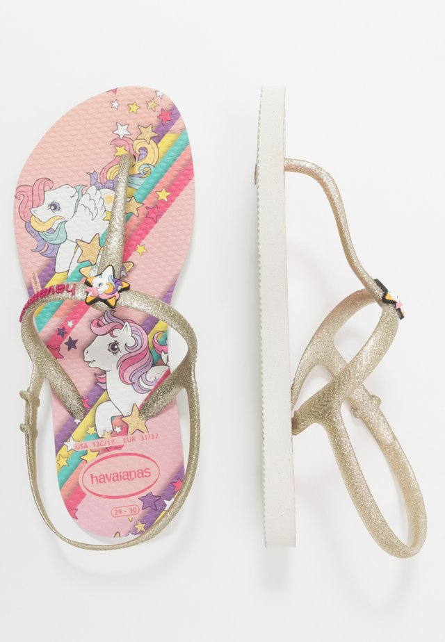 KIDS FREEDOM MY LITTLE PONY - Pool shoes - white