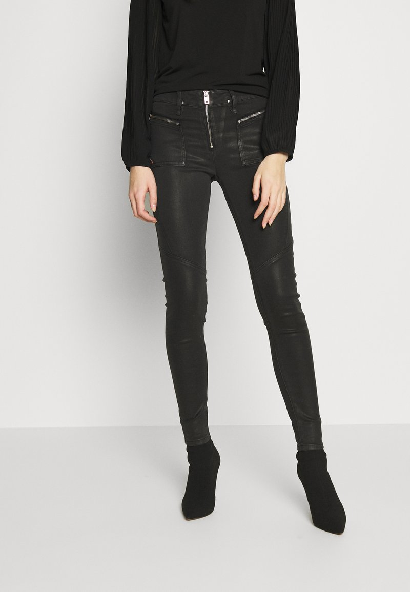 Diesel - SLANDY - Jeans Skinny Fit - black