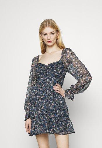 SHORT DRESS - Day dress - dark blue