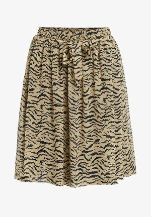 A-line skirt - light stone grey