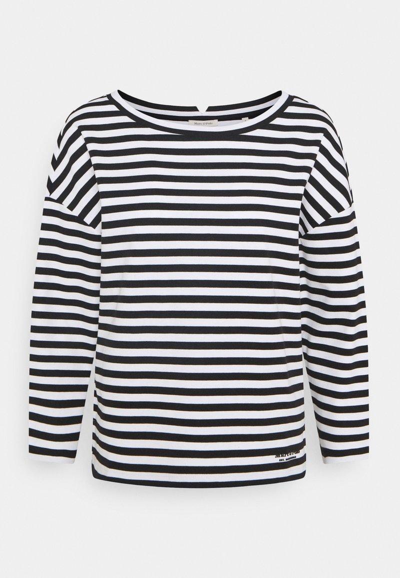 Marc O'Polo - LONG SLEEVE - Bluzka z długim rękawem - multi/black