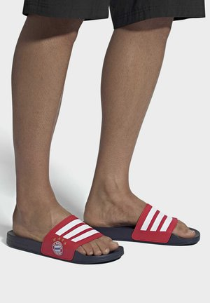 ADILETTE SHOWER SLIDES - Rantasandaalit - red