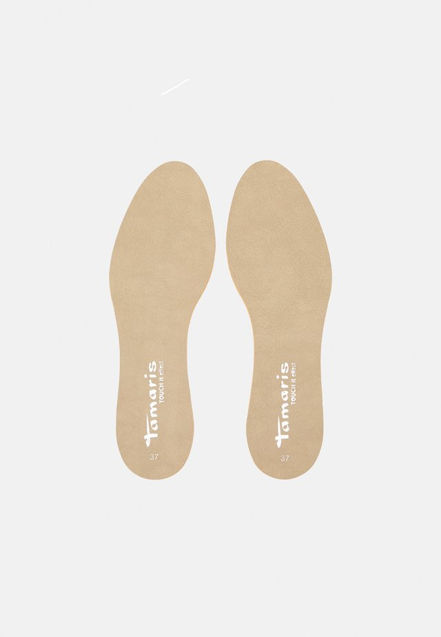 TOUCH IT - Steun- en inlegzolen - beige