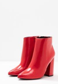 Even&Odd - High Heel Stiefelette - red - 4