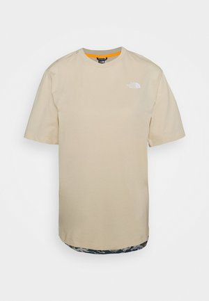 LIBERTY TEE - T-shirts med print - bleached sand