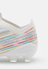 Puma - ULTRA 1.2 FG/AG - Moulded stud football boots - white/red blast/silver - 5
