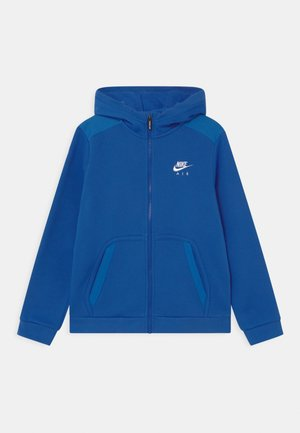 Mikina na zip - game royal/signal blue/white