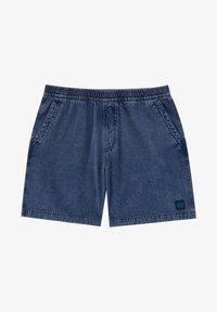 PULL&BEAR - Jeans Short / cowboy shorts - blue black denim - 6