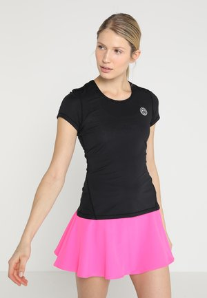 EVE TECH ROUNDNECK TEE - Basic T-shirt - black