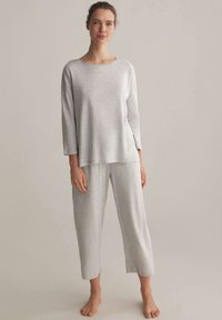 OYSHO - Pyjama top - light grey - 1