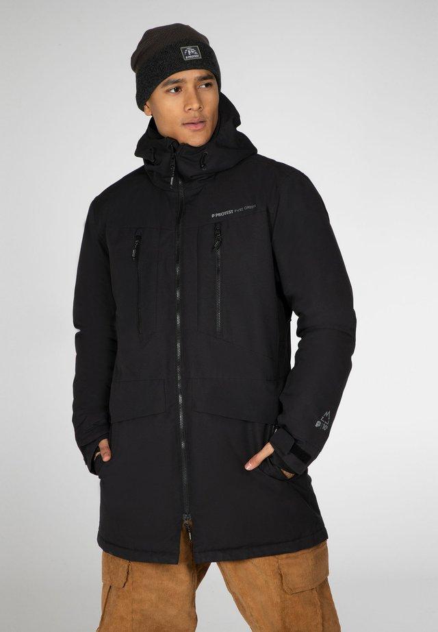 Winterjas - true black