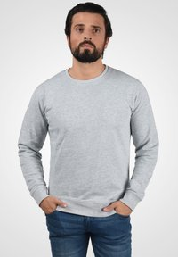 Solid - TARABO - Sweatshirt - light grey melange - 0