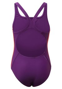 adidas Performance - ATHLY V 3-STRIPES SWIMSUIT - Swimsuit - purple - 1