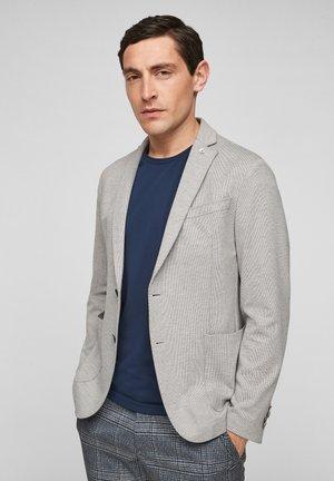 Blazer jacket - light grey dobby
