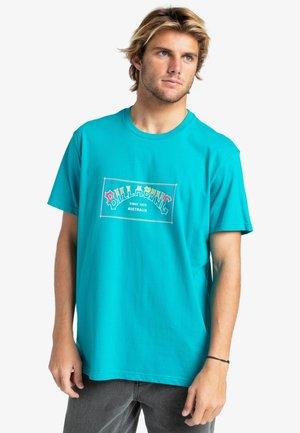 ARCH  - Print T-shirt - teal