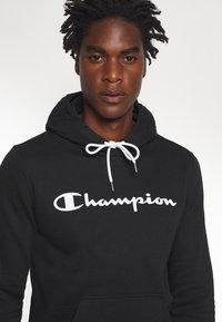 Champion - LEGACY HOODED - Hoodie - black - 4