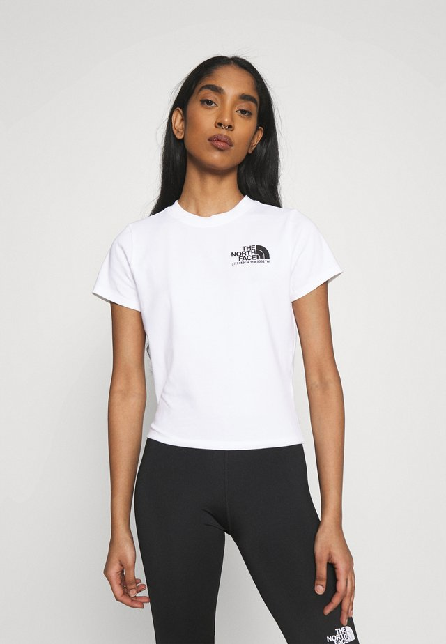 COORDINATES TEE - T-shirts med print - white