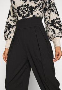 EDITED - LELIA PANTS - Trousers - schwarz - 3