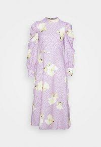 Closet - PUFF SLEEVE MIDI DRESS - Day dress - purple - 4