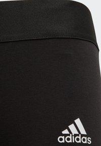 adidas Performance - MUST HAVES 3-STRIPES LEGGINGS - Legging - black - 3