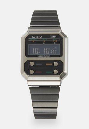 F100 REVIVAL UNISEX - Digitální hodinky - grey chrome