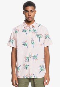 Quiksilver - Shirt - soft pink royal palms - 0