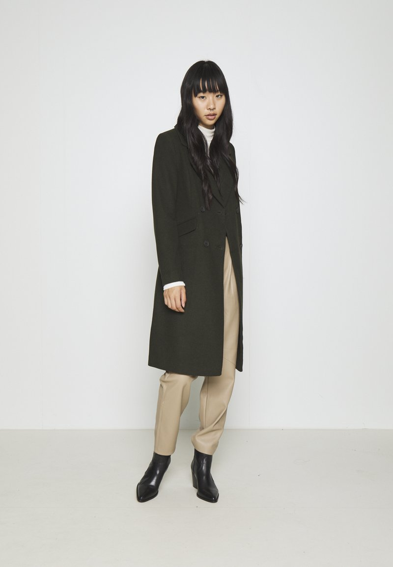 ONLY - ONLLOUIE LIFE COAT - Classic coat - rosin