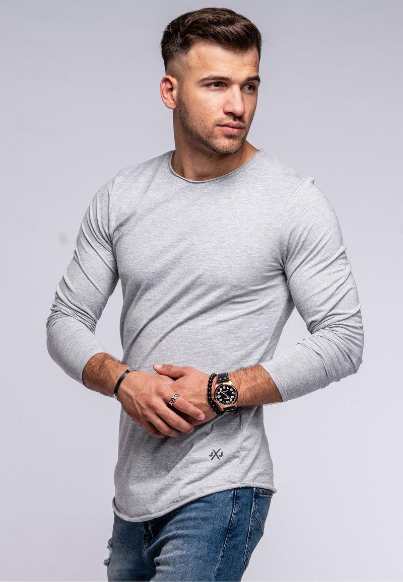 Jack & Jones - INFINITY  - Long sleeved top - light grey melange