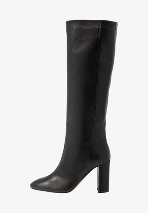 High heeled boots - nero