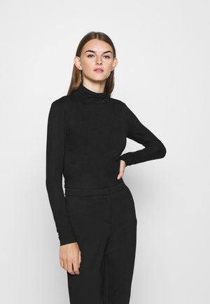ONLLELA LIFE ROLLNECK - Long sleeved top - black