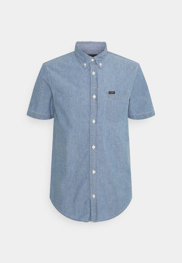 Lee BUTTON DOWN - Koszula - piscine/jasnoniebieski Odzież Męska JWCI