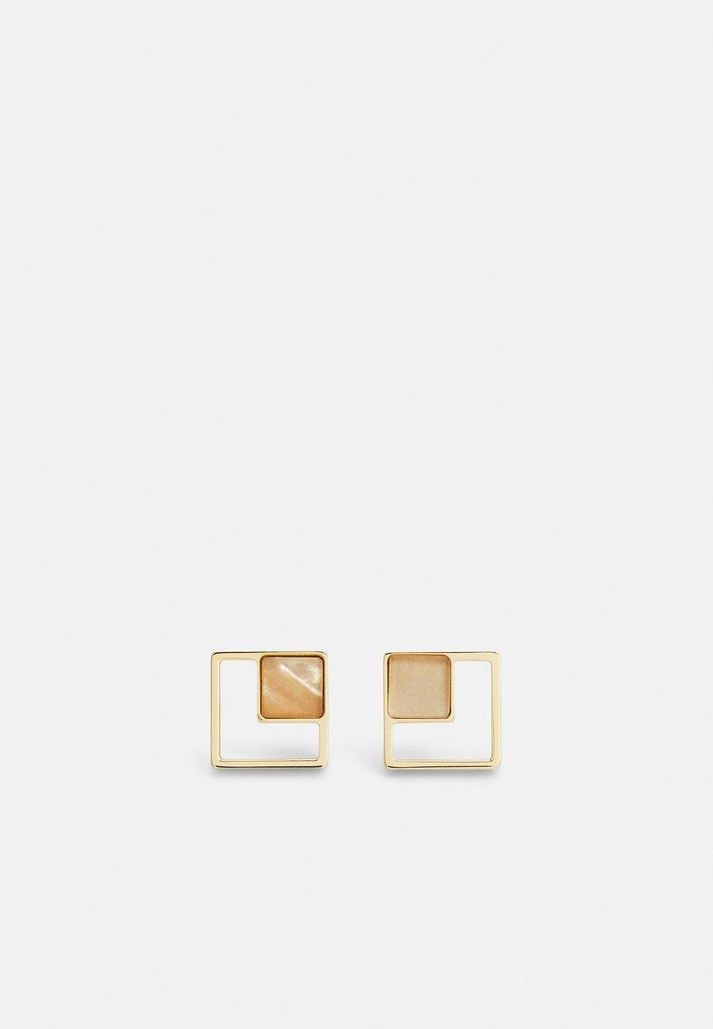 Skagen - AGNETHE - Earrings - gold