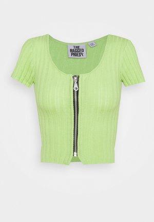 HOPPER - Camiseta estampada - lime