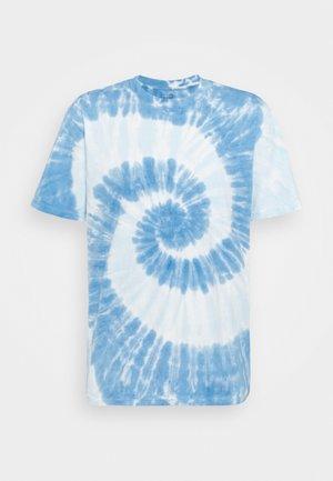 TIE DYE - Print T-shirt - deep sailor blue