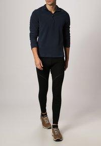 ODLO - LONG X-WARM - Dlouhé spodní prádlo - black - 0