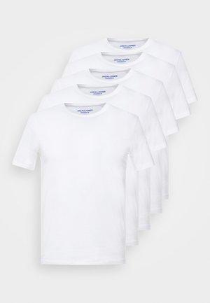JORBASIC 5 PACK  - T-shirt basique - only white