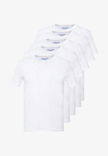 JORBASIC 5 PACK  - Camiseta básica - only white