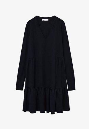 Jersey dress - sort