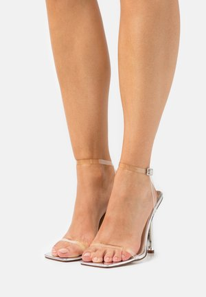 ASHEN - High heeled sandals - silver