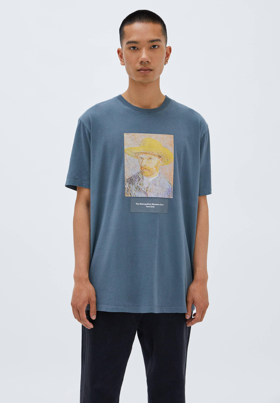 Herren GRAUES  VINCENT VAN GOGH - T-Shirt print