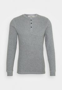 Jack & Jones - JACHENRIK HENLEY - Pyžamový top - grey melange - 3
