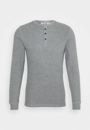 JACHENRIK HENLEY - Pyjama top - grey melange