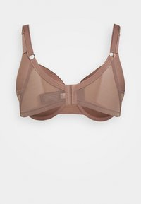 Ashley Graham Lingerie by Addition Elle - ESSENTIAL ICON BRA - T-skjorte-BH - deep taupe - 1